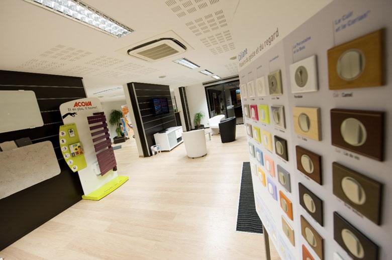 showroom électrique pau